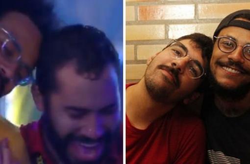 BBB21: Gil dá em cima de João em festa e namorado aqui fora reage:
