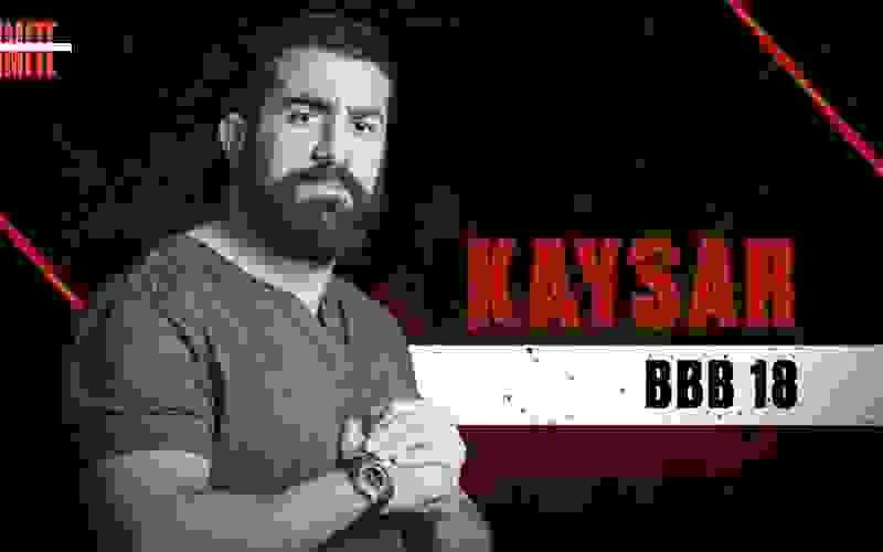 Kaysar Dadour, do BBB18, é participante do