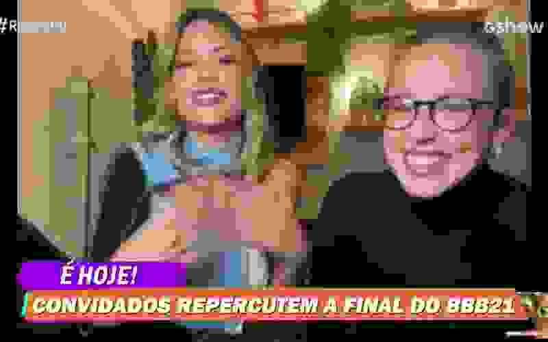 Vitória Strada comenta sobre Camilla de Lucas e Juliette na Final do BBB21:
