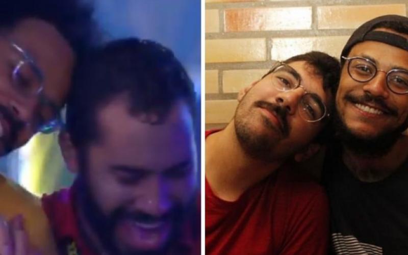 """BBB21: Gil dá em cima de João em festa e namorado aqui fora reage: """"Dobro de chance de sair milionário"""""""