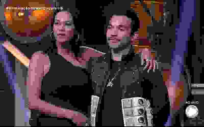 Carol e JonJon são o quarto casal eliminado do reality - Power Couple Brasil 5