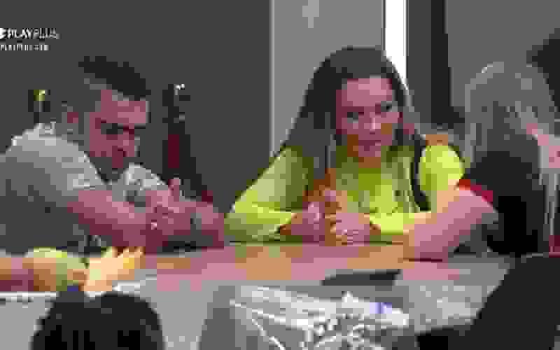Márcia e Rod questionam prioridades de Nina no jogo - Power Couple Brasil 5